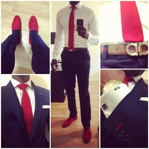 Red, White and Dapper