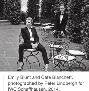 Blunt and Blanchett Tux