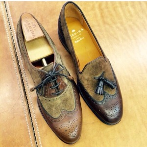 Women's wingtips and tassels