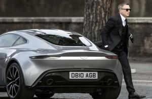 Bond and car